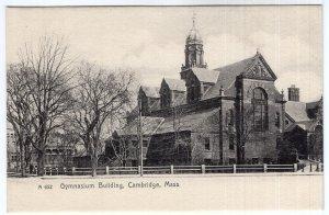 Cambridge, Mass, Gymnasium Building - Rotograph