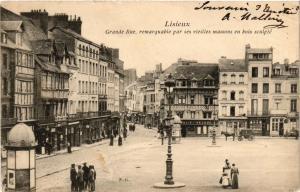 CPA LISIEUX - Grande Rue (276458)