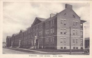 Massachusetts Ayer Barracks Fort Devens Albertype
