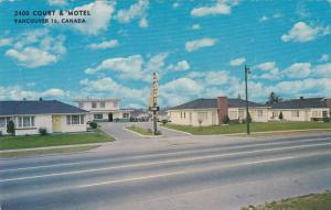 2400 Court & Motel, Vancouver, British Columbia, Canada, 1940-1960s