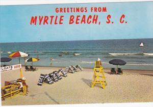 Life Guard Post, MYRTLE BEACH, South Carolina, 40-60´s