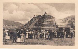 RP: Pyramid , Mexico , 1930s
