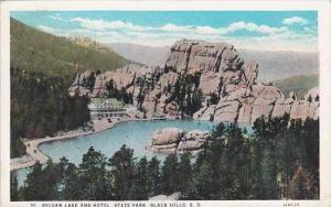 South Dakota Black Hills Sylvan Lake &  Hotel 1930