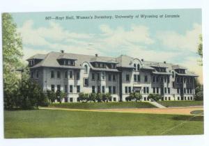 Linen of Hoyt Hall University of Wyoming Laramie WY 1950