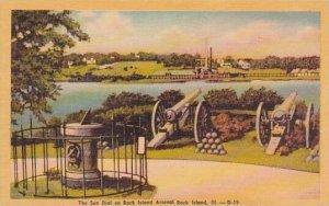 Illinois Rock Island The Sun Dial On Rock Island Arsend