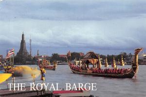 Thailand Bangkok The Royal Barge