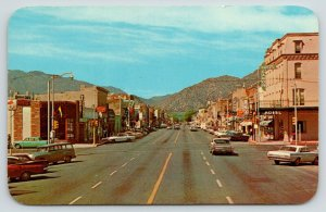 Canon City CO~Main Street~Hotel~Rex Theatre~Bar: Coors Beer~1950s Station Wagon