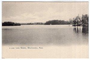Winchendon, Mass, Lake Watatic - Rotograph