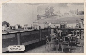 ACCOMAC , Virginia , 1940s ; Soda Shop , Whispering Pines