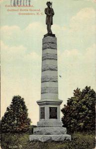 Greensboro North Carolina Guilford Battle Ground Postcard K81017