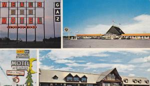 Motel Le 4 Saisons, Motel Le Roi Du Steak, Exterior Views, Drummond, Quebec, ...