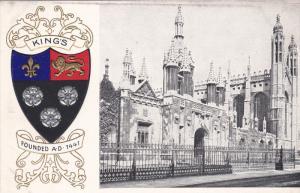 CAMBRIDGE, Cambridgeshire, England, 1900-1910´s; University of Cambridge, Ki...