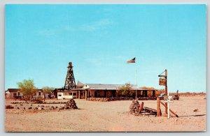 Winterhaven California~Robert Walker Gold Rock Ranch Trading Post~Mileage Sign