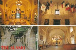 Texas San Antonio The Alamo Interior Views