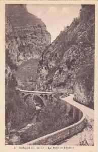 Bridge, Le Pont De l'Abime, Gorges Du Loup, France, 1900-1910s