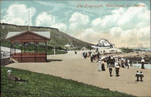The Promenade - Whitehead Co. Antrim Ireland c1910 Postcard
