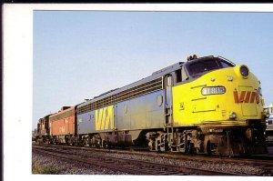 VIA Railway Train, Winnipeg, Manitoba,