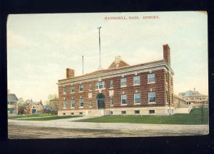 Haverhill, Massachusetts/MA/Mass Postcard, Haverhill Armory