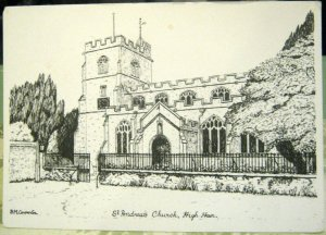 England St Andrew's Church High Ham - unposted