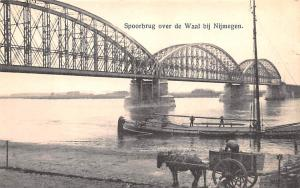 Holland Spoorbrug over de Waal bij Nijmegen  Spoorbrug over de Waal bij Nijmegen