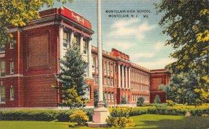 Montclair High School, Montclair, New Jersey, Early Postcard, Unused