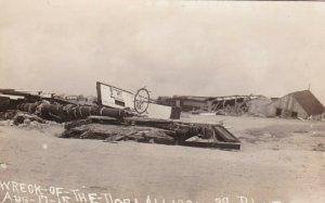 RP: DORA ALLISON Shipwreck , Texas , 1915