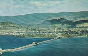 Floating Bridge, Okanagan Lake, KELOWNA , British Colubia, Canada, 40-60´s