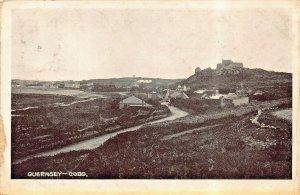 COBO GUERNSEY CHANNEL SLANDS UK~1909 POSTMARK POSTCARD
