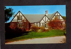 ME St George Hall Dorm St Joseph's College Joseph Sebago Lake Windham Maine PC