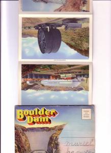Souvenir Folder 18 Scenes Boulder Dam Nevada, Arizona, Many Great Images