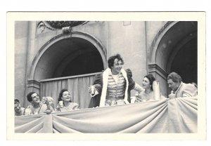 RPPC Austria Salzburg Festival Jedermann Opera Play Vintage Ellinger Postcard