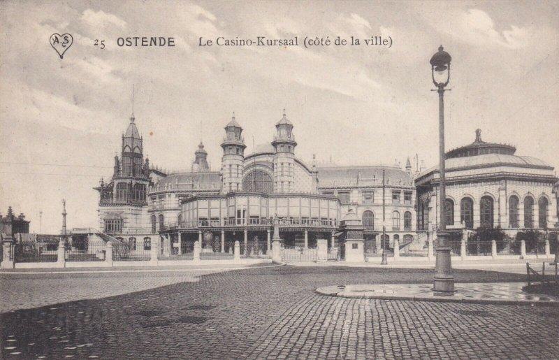 OSTENDE, Belgium, PU-1909 ; Le Casino-Kursaal (cote de la Ville