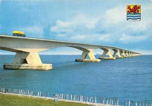 Netherlands Zeelandbrug Verbinding Schouwen Duiveland en Noordbeveland Bridge