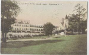 The New Pemigewasset House Plymouth NH Hand Colored 19??