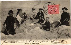 CPA BERCK-PLAGE - Sur le Sable (129322)