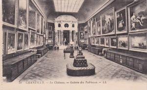 France Chantilly Le Chateau Galerie des Tableaux