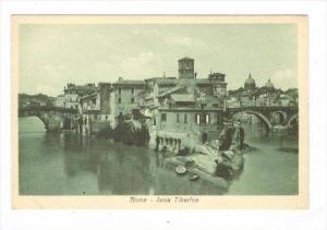 Roma , Italy - Isola Tiberina, 00-10s