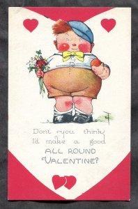 dc2194 - VALENTINE'S DAY 1920s All Round Boy Ready for Love