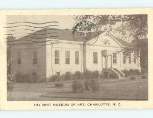 Pre-1980 MUSEUM SCENE Charlotte North Carolina NC hr1587