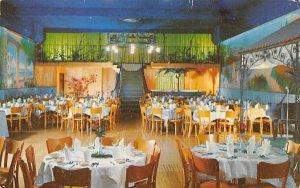 The Caribbean Room of the Fiesta Wood-Ridge, New Jersey Postcard