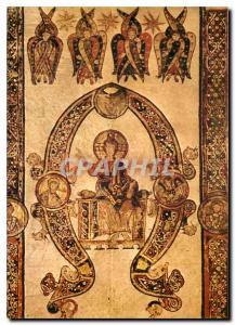 Postcard Modern Bari Exultet V iniziale di Vere quia con dignum the Maiestas