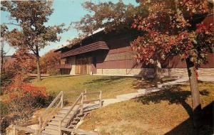 Morgantown West Virginia~Mont Chateau Lodge~Cheat Lake~1950s Postcard