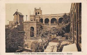 Cuernavaca Mexico Hotel Moctezuma Real Photo Antique Postcard J78140