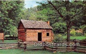 Abraham Lincoln's Boyhood Home Hodgenville, KY, USA Writing on back