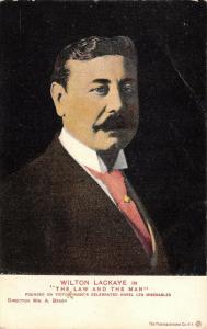 Wilton Lackaye~American Film & Stage Actor~The Law & the Man~Svengali~1905 PC