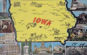 The State Of Iowa  1953