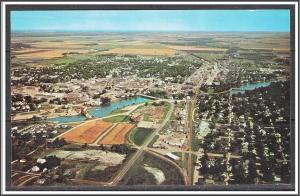 Minnesota, Thief River Falls Aerial View - [MN-025]