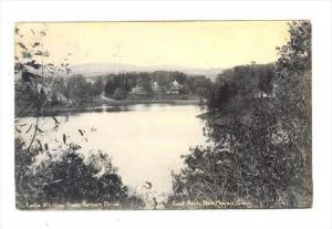 Lake Whitney From Farnam Drive, East Rock, New Haven, Connecticut, 1900-1910s