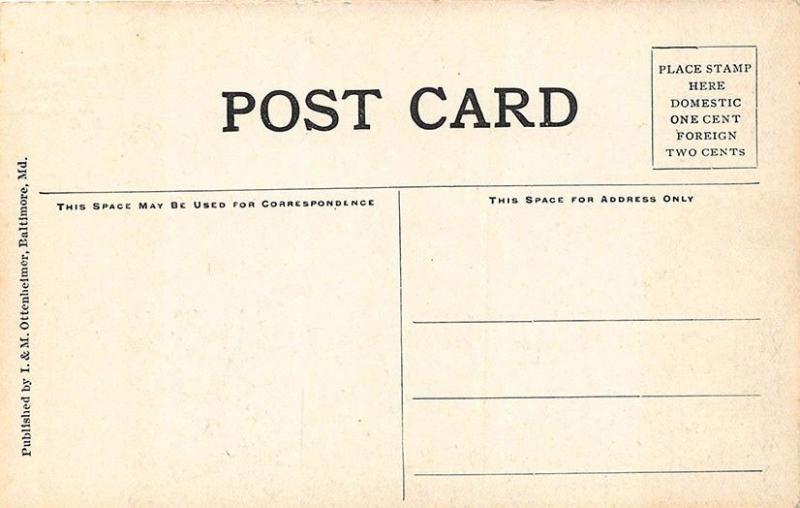 Washington DC Breech Mechanism West Gun & Carriage Navy Yard Postcard