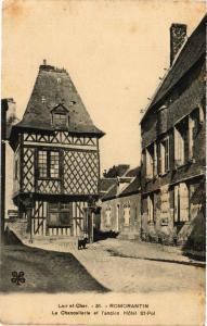 CPA Loiret Cher ROMORANTIN Le Chanceilerie et l'ancien Hotel St-Pol (208474)